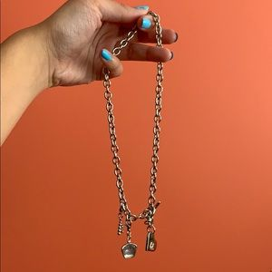 bd Necklace with Charms